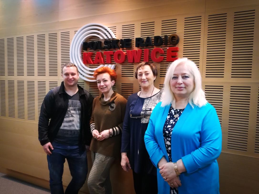 Kamil Kiernożycki, Agnieszka Strzemińska, Teresa Dziedzic i Iwona Kiernożycka (od lewej)